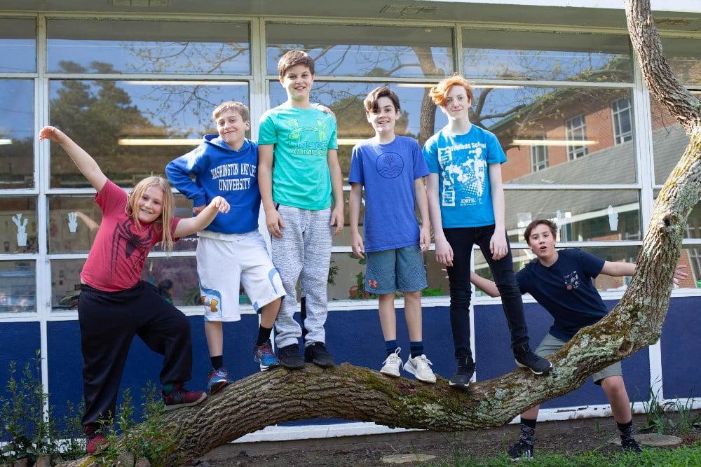 Virginia Beach Friends School Middle School Students