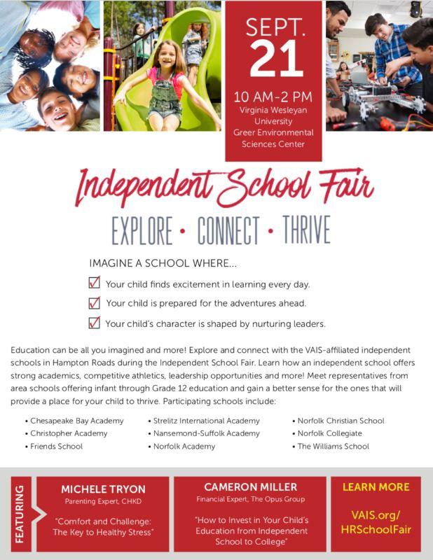 Independent School Fair Flyer