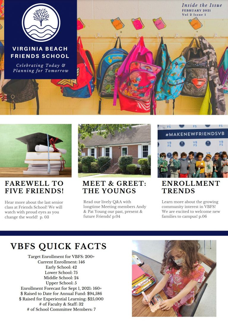 State of the School Newsletter